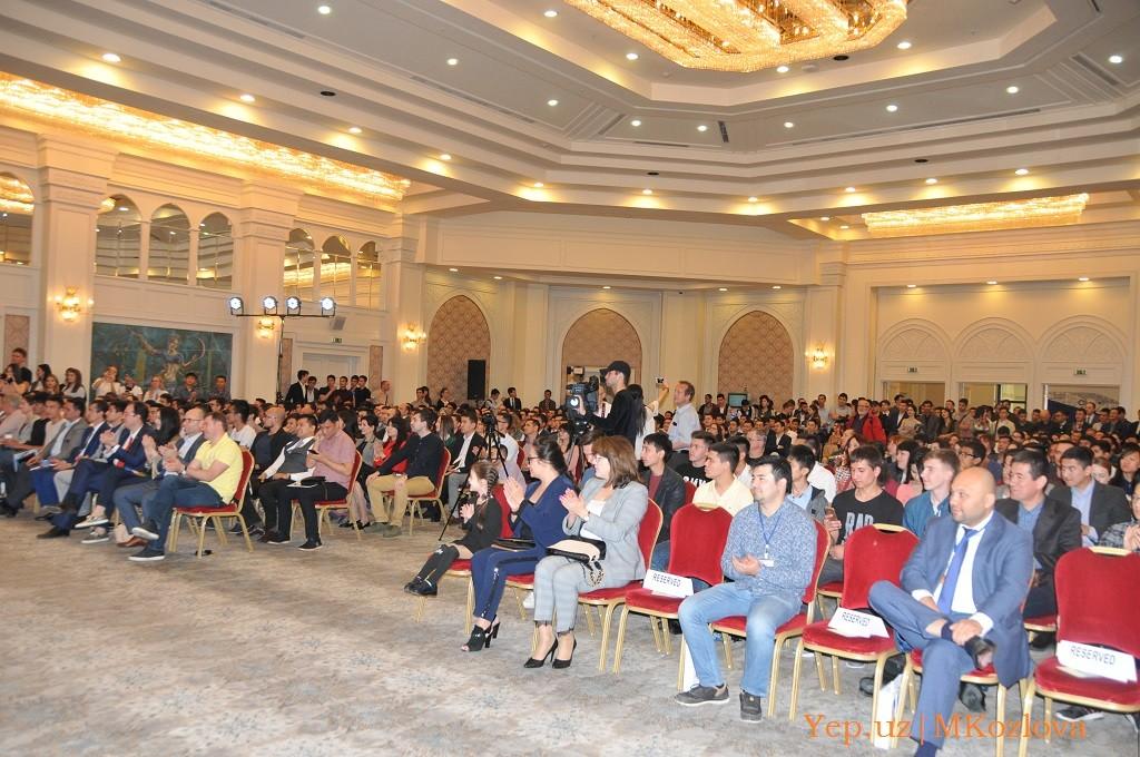 Конференции Usenet в Ташкенте в 2018 году: зал заполнен