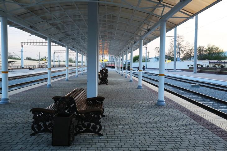 Южный вокзал в Ташкенте