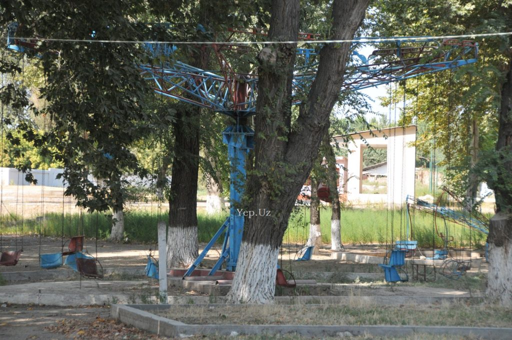 Остатки былой роскоши парка на Ташморе