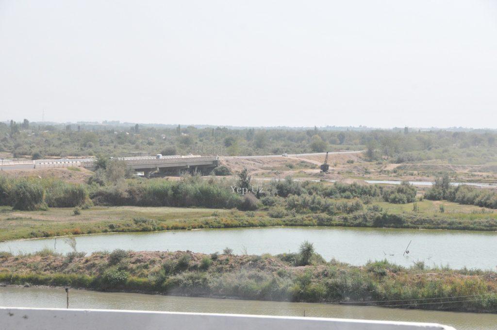 Панорама дороги на Ташморе