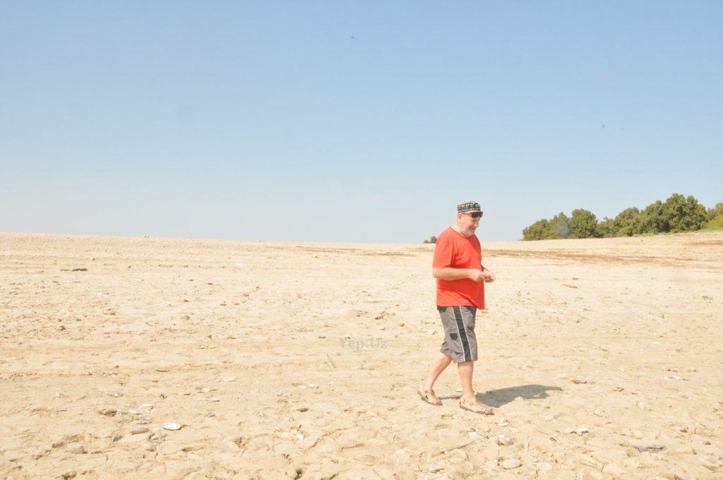 Владимир на пляже Ташморя