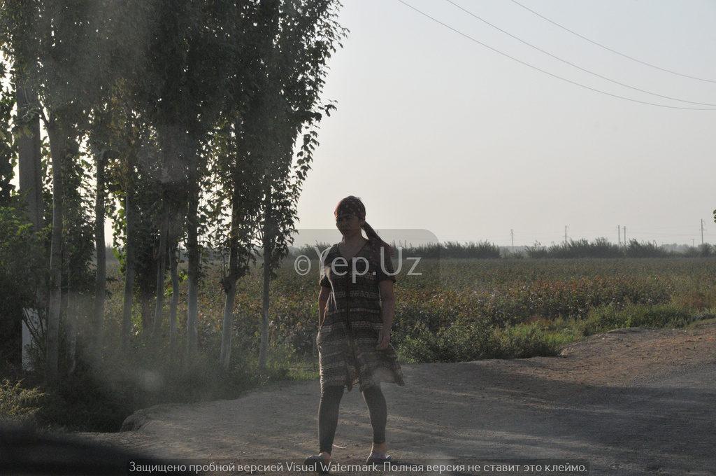Узбекская крестьянка