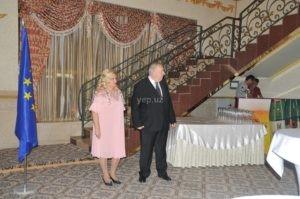 Посол Словакии Ян Бори и его супруга Ярмила Бориова перед началом приема