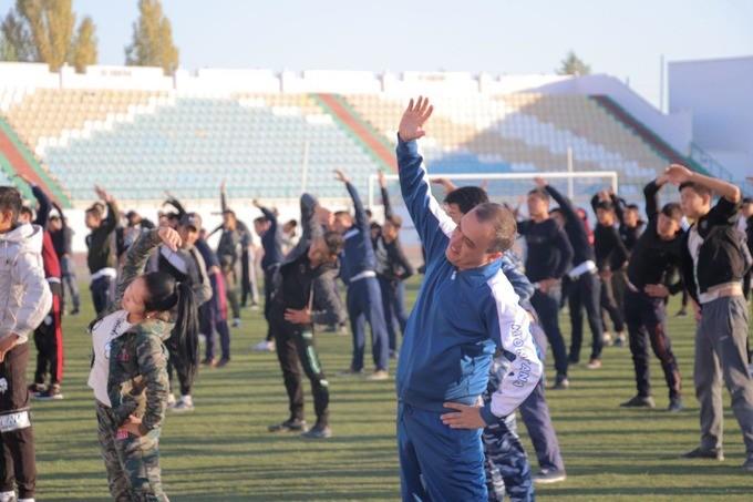 Указ о спорте и физкультуре в Узбекистане