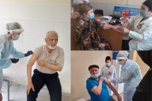 Прививка от коронавируса в Узбекистане