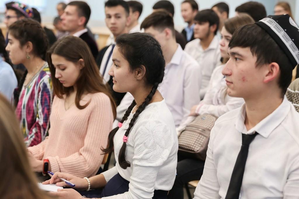 Узбекские студенты