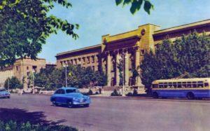 Центральный телеграф в 1958-1959 годах Фото Н.С. Грановского