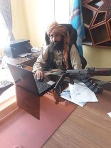 Директор школы у талибов