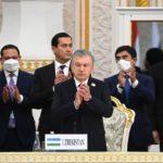Делегация Узбекистана на саммите ШОС в Душанбе